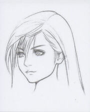 AC Tifa's Face Artwork