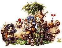 Crystal Chronicles Chillin Artwork
