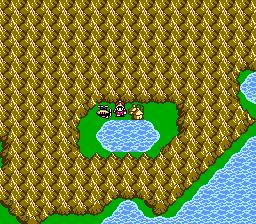 FFIII NES Dorga's Village