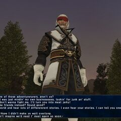 Gilgamesh em <i>Final Fantasy XI: Scars of Abyssea</i>