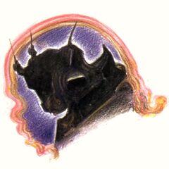 Рисунок Ёситака Амано для обложки альбома Grand Finale с саундтреком игры.
