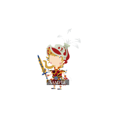 Луковый Рыцарь из <i>Kingdom Hearts Mobile</i>, основанный на персонаже <i>Dissidia</i>
