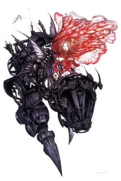 Terra on Magitek Armour