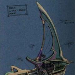 Conceito da casa-barco de Tidus.
