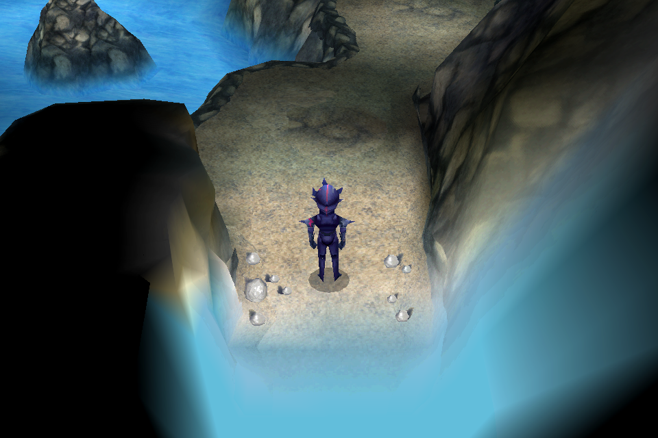 Underground Waterway Final Fantasy IV