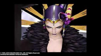 "Edea ""Ice Strike"" Limit Break from FINAL FANTASY VIII Remastered"