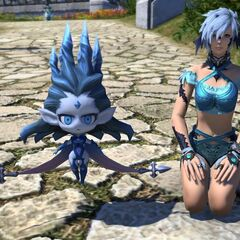 Wind-up Shiva minion.
