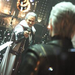 Crystal fragments appearing in a 2011 <i>Final Fantasy Versus XIII</i> trailer.