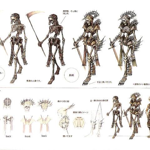 Skeleton concept art.