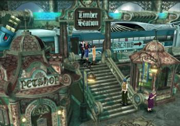 Balamb station