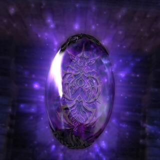 Zeromus's crystal.