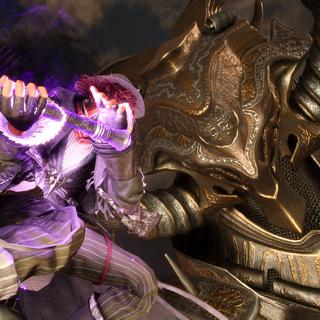 Ардин сражается с Тайновидцем.