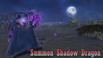 DFF2015 Summon Shadow Dragon