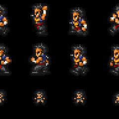 Set of Raijin's sprites.