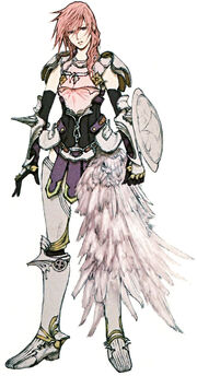 FFXIII-2 Lightning Artwork