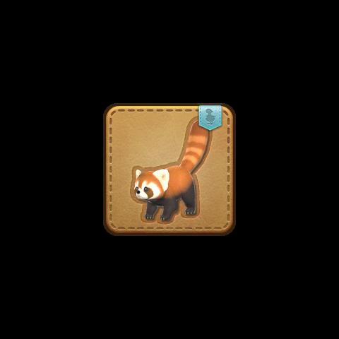 La mascota Lesser Panda obtenible en Aery.