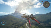 Flying Car FFXV E3