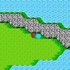 Jade Passage on the World Map (NES).
