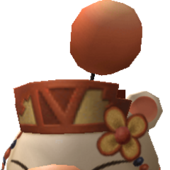 Class Fourth moogle model.