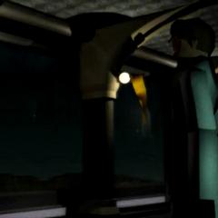 Руфус в FMV из <i>Final Fantasy VII</i>.