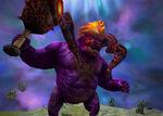 Square Enix Legend World - King Behemoth (The Crystal Bearers)