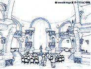 Treno Auction House Interior FFIX Art