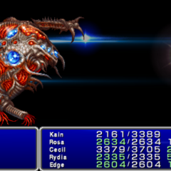 Elixir in-game (PSP).