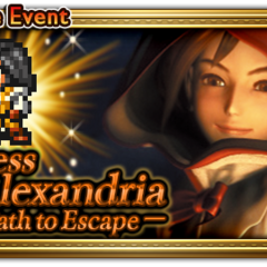 Global event banner for Princess of Alexandria.