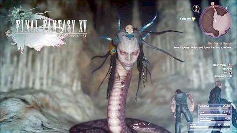 Final Fantasy XV (Naga Boss Fight) How To Beat Naga-0