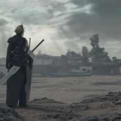 <i>Final Fantasy VII Advent Children</i>.