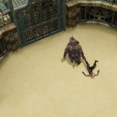 Battle arena.
