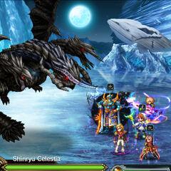 Shinryu Celestia in Final Fantasy Brave Exvius