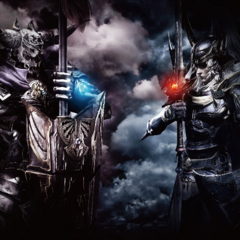 Promotional Artwork of Garland & Warrior Of Light
