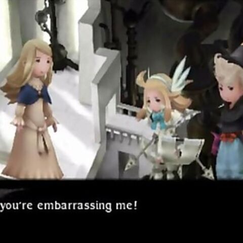 Mahzer embarrassing Edea.