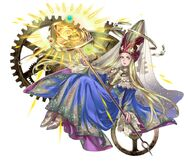 FFD2 Time Mage Promotional Art