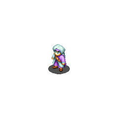 Hume Paladin sprite in <i>Final Fantasy Tactics</i>.