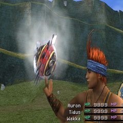 Ice version in <i>Final Fantasy X</i>.