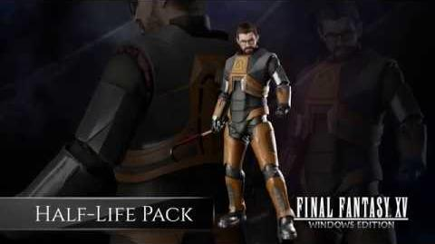 FINAL FANTASY XV WINDOWS EDITION Half-Life Pack Bonus