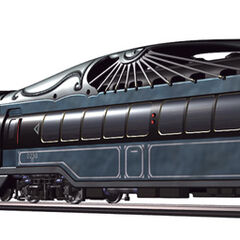 Intercontinental Train render.