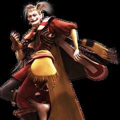 Изображение Кефки в ролике FMV из <i>Dissidia Final Fantasy</i>.