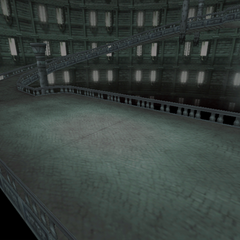 Battle background in Oblivion.