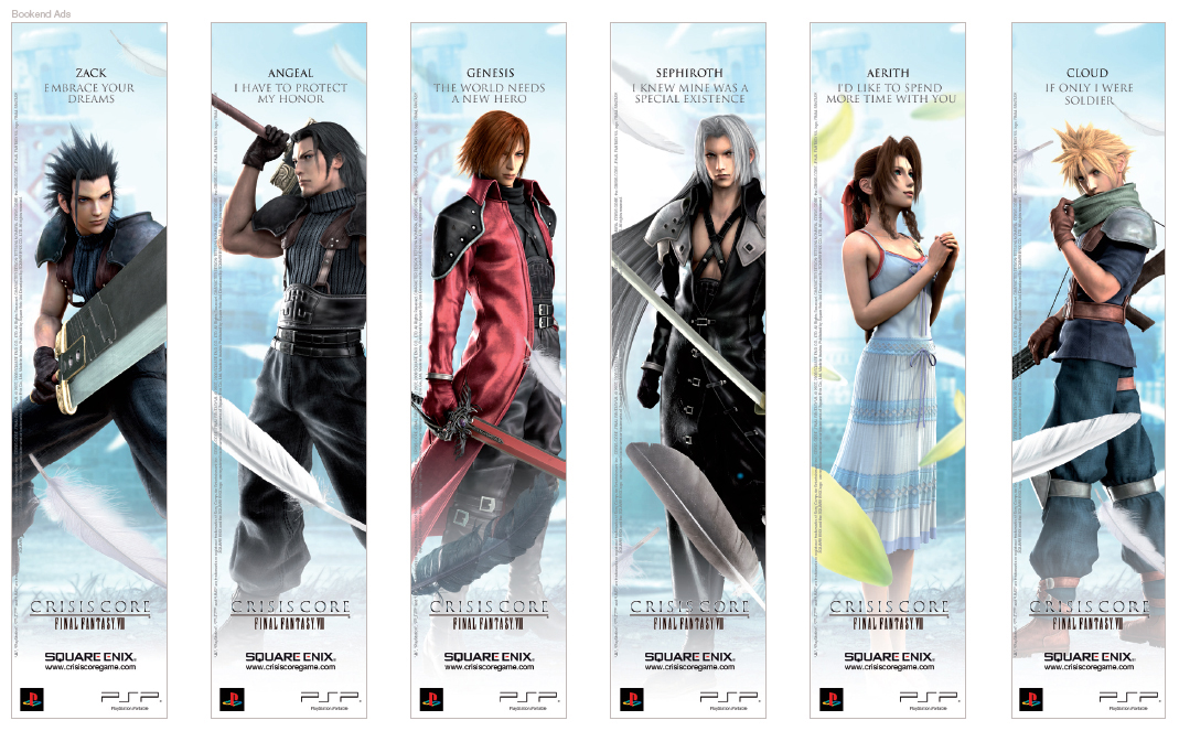 Final Fantasy 7 Anime Characters : Image cc characters bookends g final fantasy wiki