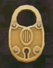 LRFFXIII Gold Padlock