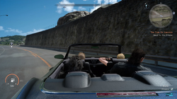 Regalia car radio from FFXV