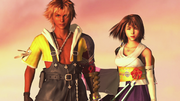 Tidus Yuna Before Fighting Sin