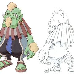Dwarf male in <i>Final Fantasy IX</i>.