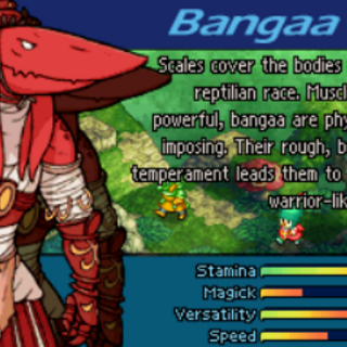 Bangaa intro from <i>Tactics A2</i>.
