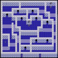 Pandaemonium's Fourth Floor's Right Rooms (NES).