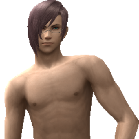 Kazusa's swimsuit model.