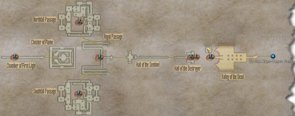 FF12 Map - Tomb of Raithwall